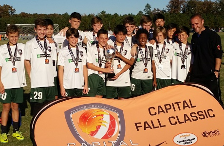Champions crowned at Capital Fall Classic Boys Weekend