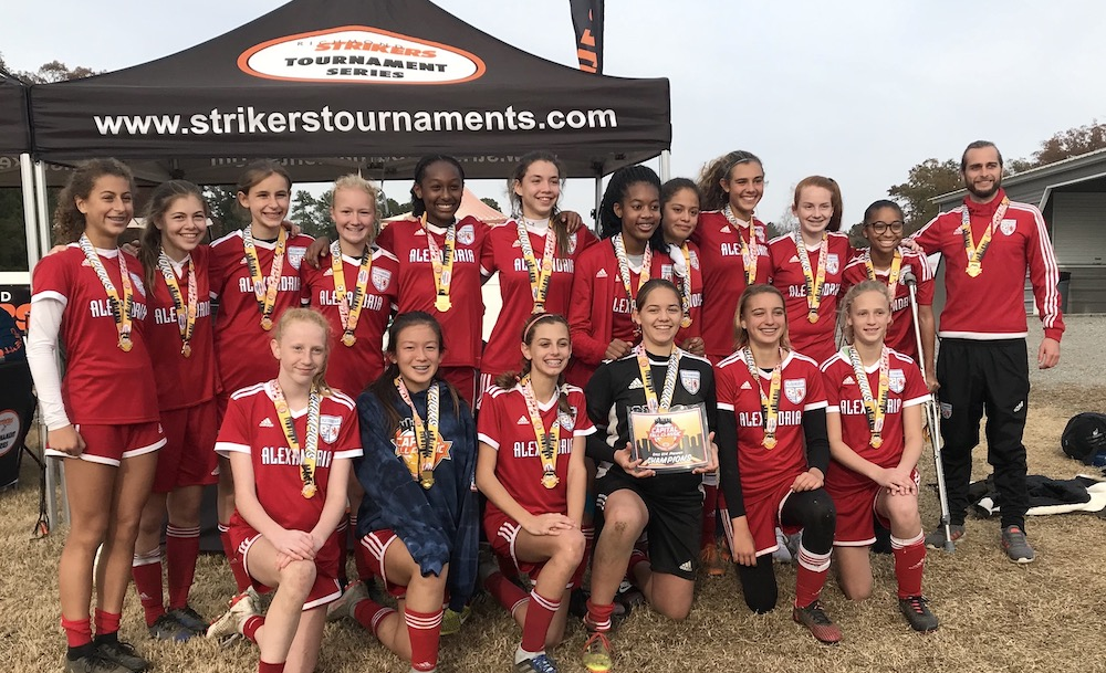 Alexandria SA 05 Girls earn Jefferson Cup berth at 2018 Capital Fall Classic