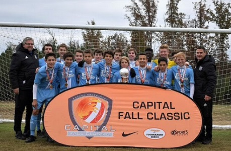 Capital Fall Classic Boys champions crowned, Jeff Cup berths decided